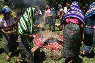 El Salvador Indigenous Ceremony