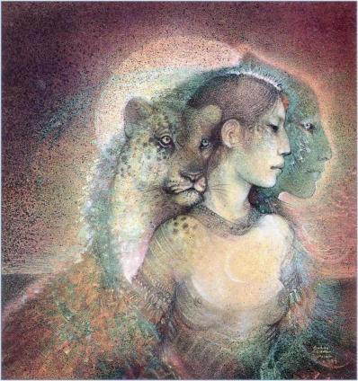 IxChel.Mayan Triple Goddess